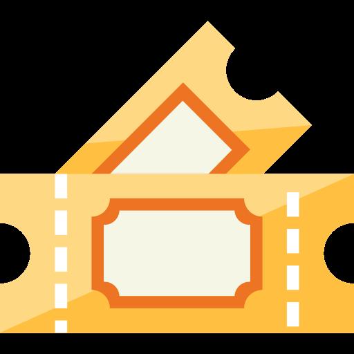 ilustração de ingressos